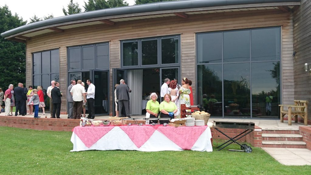 BBQ catering for a wedding outside Knutsford Cheshire. #weddingcateringcheshire