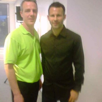 The famous Manchester United and Wales Player Ryan Giggs