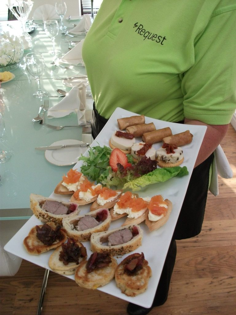 canapes created in Cheadle, Stockport, Cheshire and Manchester